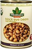 Bioitalia Black Eye Peas, 14 Ounce (Pack of 12)