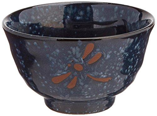 Happy Sales 6 Piece Dragonfly Rice Noodle Soup Bowls, Blue