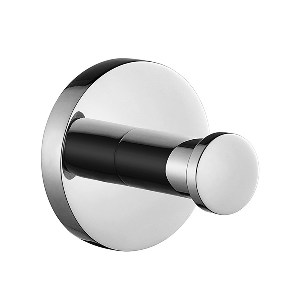 Aothpher 304 SUS Stainless Steel Bathroom Towel Ring, Chrome Finished Towel Holder.