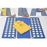 Flip-Fold Clothes Folder, Blue