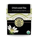 Organic Chickweed Tea - Kosher, Caffeine-Free, GMO-Free - 18 Bleach-Free Tea Bags