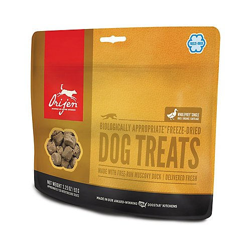Orijen Free-run Duck Freeze-dried Treats 3.25 Oz