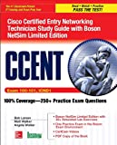 CCENT Cisco Certified Entry Networking Technician Study Guide (Exam 100-101, ICND1), with Boson NetSim Limited Edition, Bob Larson and Matt Walker, 0071838392