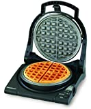 Chef'sChoice 8400100 Chef's Choice 840B WafflePro Express Waffle Maker, Classic Belgian, Black