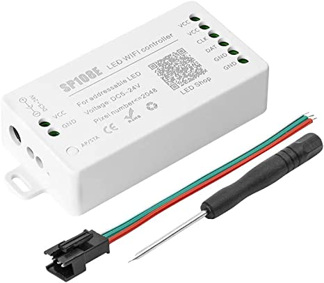SP105E SP107E Music SP108E WiFi wireless led controller For WS2812B WS2811 LED