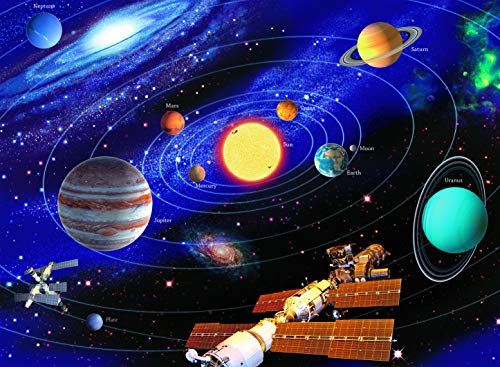 Ravensburger The Solar System - 200 Piece Jigsaw Puzzle for Kids – Every Piece is Unique, Pieces Fit Together Perfectly by Ravensburger