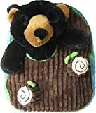 Best Travel Backpacks With Plush Friends - Kreative Kids Adorable Plush Black Bear Backpack Review