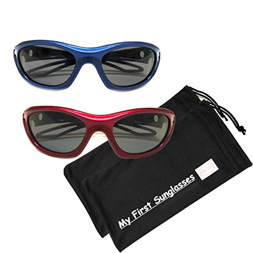 MFS-S/S-120mm - Navy Blue and Red Value - 2 - Sunglasses Cost