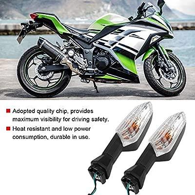 Yctze Luces LED de señal de giro de motocicleta, lámpara ...