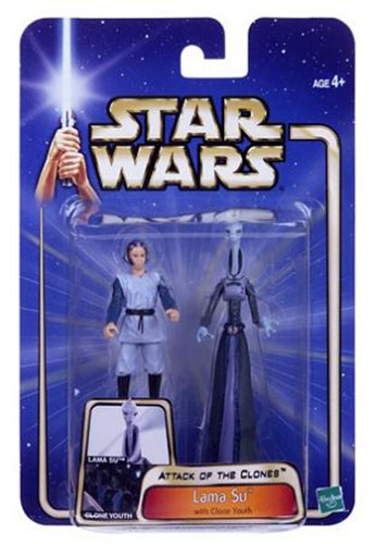 Star Wars Attack of the Clones Lama Su with Clone Youth figure