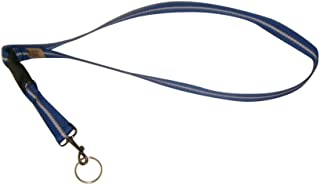 product image for Key Chain Neck Strap in 10 Beautiful Colors Made in U.s.a. (Blue)