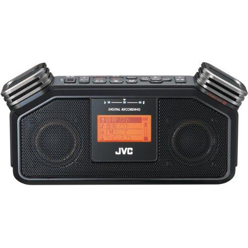 JVC ラジカセ RD-R2-B [ブラック] B004P0QQPO