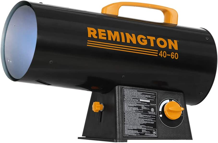 Remington REM-60V-GFA-O Variable BTU for Heating up to 1500 Square feet, 60,000, Black