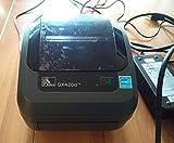 Zebra GX420d GX42-202512-000 Printer W/Cutter, New Adapter USB Power Cables