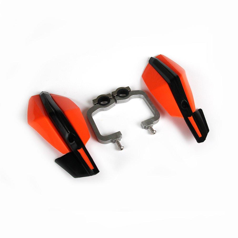 Red Motorcycle 7//8 22mm 1 1//8 28mm Handguards Hand Guards For Honda CRF50 CR80 CR85 CRF110 CR125R CR250R CR CRF 125 250 Enduro Motorbike Motocross Dirt Bike