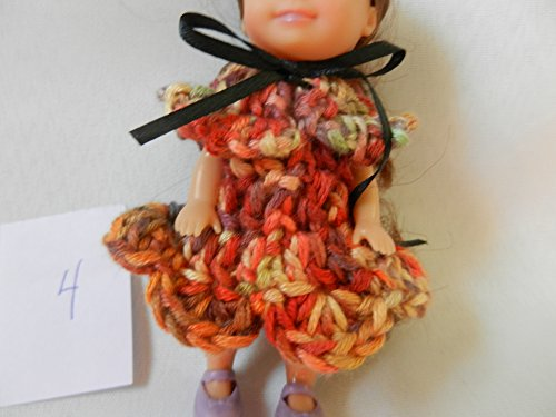 Limited Edition dress 4 fits Baby Kelly from the Barbie family as well as Sparkle Girlz and other 5 inch dolls OOAK