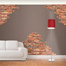 Fathead 69-00637 Wall Decal, Generic Exposed Brick Horizontal RealBig