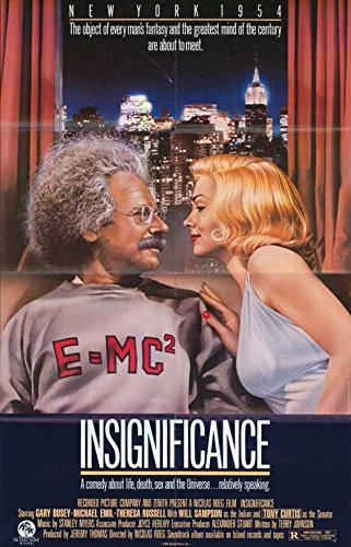 Insignificance Poster Movie Gary Busey Tony Curtis Theresa Russell Michael Emil
