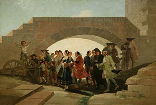 [Oil Painting 'Goya Y Lucientes Francisco De The Wedding 1791 92 ' Printing On High Quality Polyster Canvas , 20 X 30 Inch / 51 X 75 Cm ,the Best Bedroom Artwork And Home Decor And Gifts Is This Replica Art DecorativePrints On] (Half Doll Half Zombie Costume)