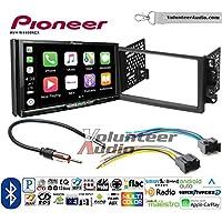 Volunteer Audio Pioneer AVH-W4400NEX Double Din Radio Install Kit with Wireless Apple CarPlay, Android Auto, Bluetooth Fits 2007-2011 Chevrolet Aveo