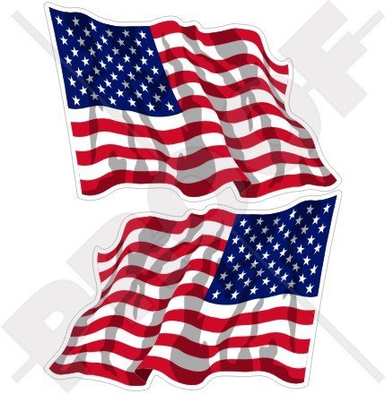 (USA United States America Waving Flag American 3