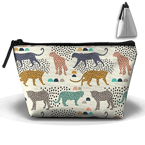 Travel Cosmetic Bags Leopard Jaguar Spot Small Makeup Bag Multifunction Pouch Cosmetic Handbag Toiletries Organizer Bag for Women Girl -