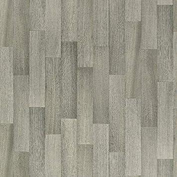 CV-Boden wird in ben/ötigter Gr/ö/ße als Meterware geliefert PVC-Belag verf/ügbar in der Breite 3 m /& in der L/änge 3,0 m PVC Vinyl-Bodenbelag in der Optik grau anthrazit Holz Planke