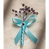 Wedding Corsage ,Bride and Groom Boutonniere ,Boutonniere (2)