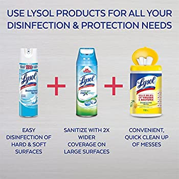 Lysol Disinfectant Spray, Crisp Linen, 25oz (2x12.5oz) 6