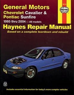 chevrolet cavalier pontiac sunfire 1995 2005 haynes repair rh amazon com