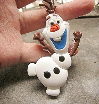 Amigo de Elsa y Anna Olaf Dancing clave cadena llavero para ...