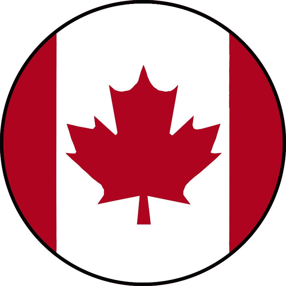 Canadian Flag Spare Tire Cover for 255/75R17 Jeep RV Camper and more (Select from popular sizes in drop down menu or contact us-ALL SIZES AVAILABLE) … TireCoverCentral