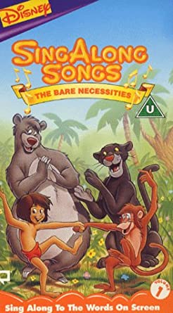 59dd85195 Disney s Sing Along Songs Volume One - The Bare Necessities  Amazon ...