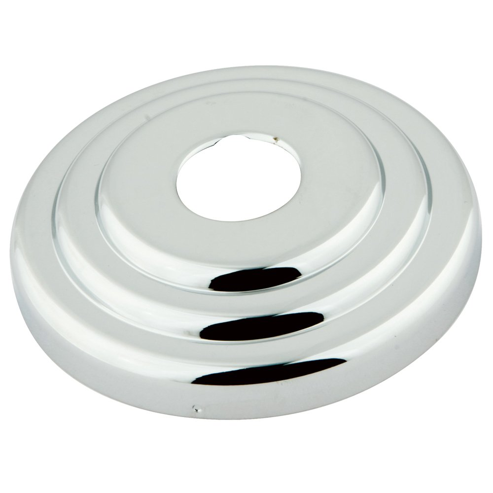 3-Inch Polished Chrome Kingston Brass FLCLASSIC1 Nuvofusion Made to Match Decor Escutcheon