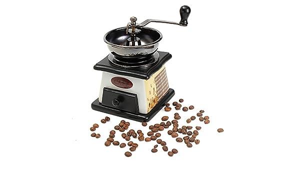 Mini Molinillo de café Manual de Madera Retro Vintage, máquina de moler a Mano, Cocina o Cocina: Amazon.es: Hogar