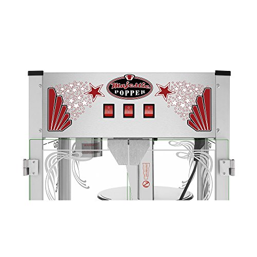 Majestic Popcorn Machine- Commercial Style Popcorn Popper Machine-Makes Approx. 7.5 Gallons Per Batch by Superior Popcorn (16 oz.) by Superior Popcorn Company (Image #2)