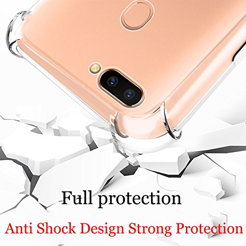 Lokezeep Anti Drop Back Case Cover for Oppo F9 Pro/Oppo F9 (2018