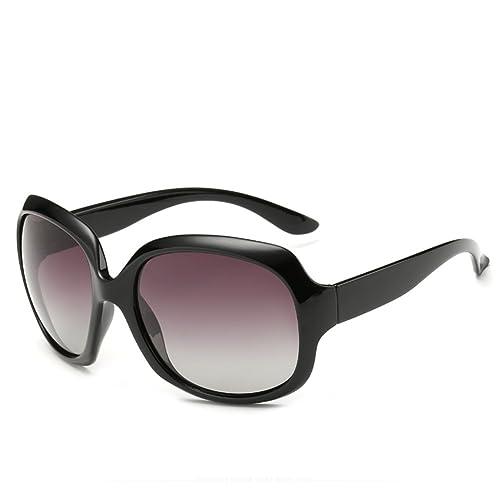 gafas de sol/Las señoras grandes gafas de sol retros de la caja/Espejo polarizado rana/Puede ser equ...
