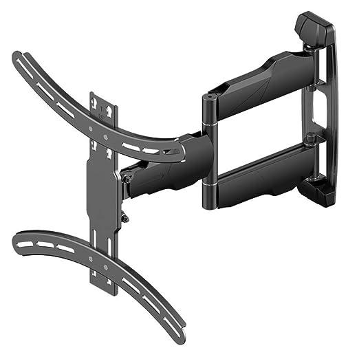 FLYSXP Soporte para TV 32-55 pulgadas Soporte para montaje en pared para TV Monitor multifunción rotativo telescópico LCD Monitor de soporte para TV pantalla plana para montaje en pared Instalación de: Amazon.es: