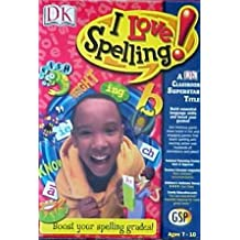 DK I Love Spelling (Ages 7-10) (PC & Mac)