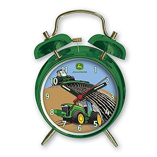 John Deere Child's Twin Bell Alarm ()