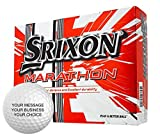 Srixon Marathon Personalized Golf Balls - Add Your Own Text (12 x 15 Ball Boxes)