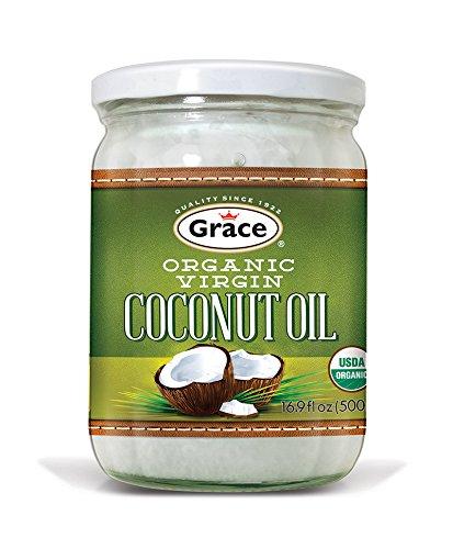 Grace Coconut (Grace Organic Virgin Coconut Oil - 14 oz (1 unit))