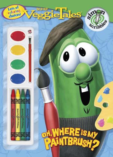 Oh, Where Is My Paintbrush? (Veggietales) Veggietales Coloring Book