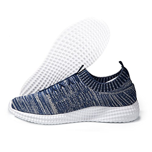 Lightweight Navy Sports Athletic eyeones Women's Men's Shoes Outdoor Sneakers Walking Casual qvw7pwxHE