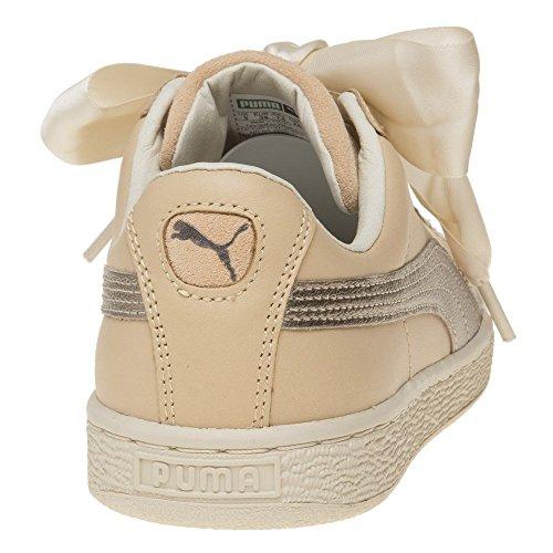 natural Vachetta Puma Natural Ecru Heart Basket Wmns Up Vachetta ww1fBq
