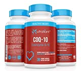 CoQ10 Ubiquinone 200 MG Per Serving Supplement - High Absorption Coenzyme Q10 - Best Support for Heart & Immune Health, Energy Production & Stamina - All Natural, Non-GMO - 30 Vegetarian Capsules