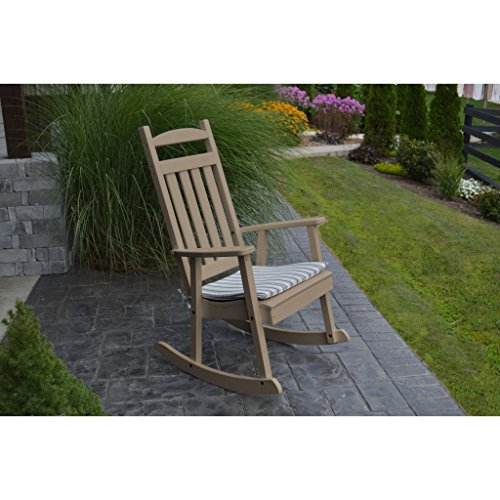 Classic Chair Company - A&L Furniture Company Classic Recycled Plastic Porch Rocking Chair