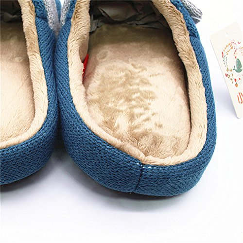 38 Fashion red Pointed 2018 Flops Flock Green Women Summer Embroidery New Female Ladies Toe Slippers Slides Khaki Flip Bee Penin Txw0Hx