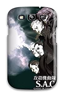 Hot Ghost In The Shell First Grade Tpu Phone Case For Galaxy S3 Case Cover